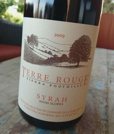 2010 TERRE ROUGE Syrah, High Slopes