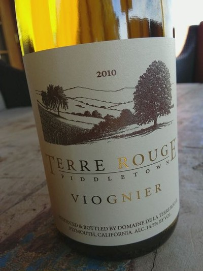 2010 TERRE ROUGE Viognier, Reserve