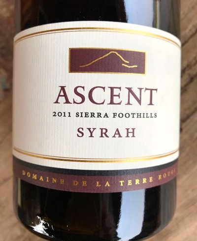 2011 TERRE ROUGE Syrah, Ascent