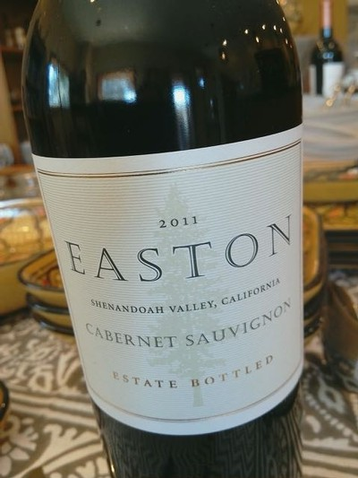 2011 EASTON Cabernet Sauvignon, Estate