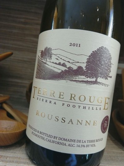2011 TERRE ROUGE Roussanne, RESERVE, Sierra Foothills