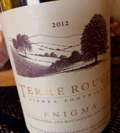 2012 TERRE ROUGE Enigma Image