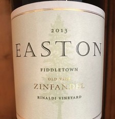 2013 EASTON Zinfandel, Rinaldi Vineyard