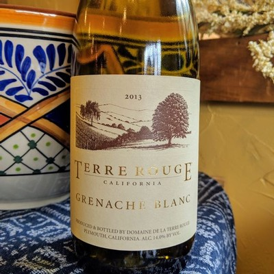 2013 TERRE ROUGE Grenache Blanc
