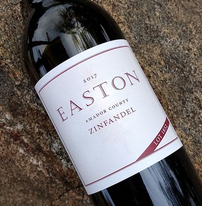 2017 EASTON Zinfandel, Lot 1852