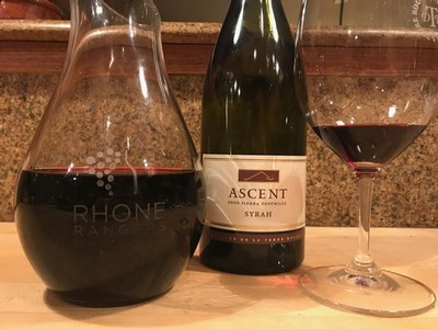 2. 2000 TERRE ROUGE Syrah, Ascent