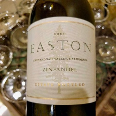 2000 EASTON Zinfandel, Estate