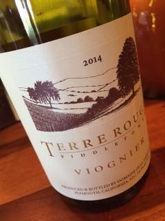 2014 TERRE ROUGE Viognier, Fiddletown