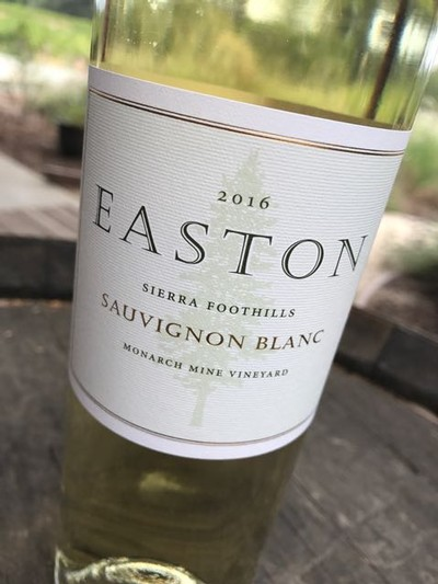 2016 EASTON Sauvignon Blanc, Sierra Foothills