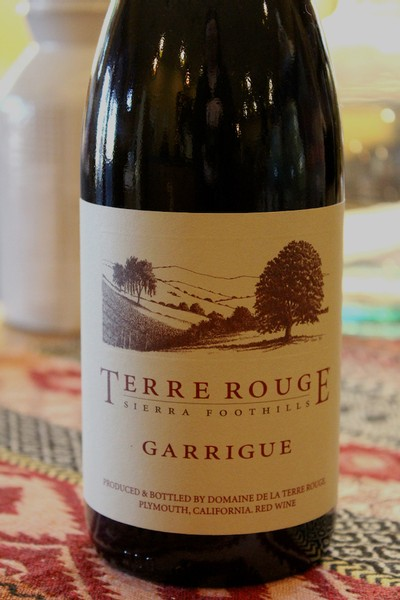 2014 TERRE ROUGE Garrigue, Sierra Foothills