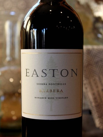 2013 EASTON Barbera, Monarch Mine Vineyard, Sierra Foothills