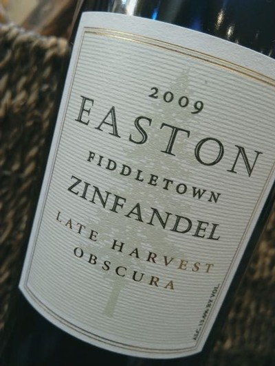 2009 EASTON Obscura, Very Late Harvest Zinfandel