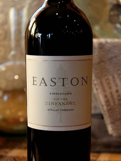 2013 EASTON Zinfandel, Rinaldi Vineyard, Fiddletown