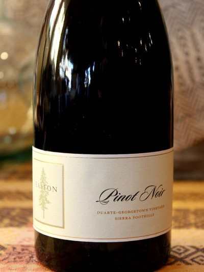 2014 EASTON Pinot Noir, Georgetown-Duarte Vineyard, Sierra Foothills