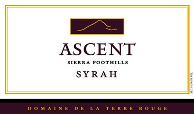 2010 TERRE ROUGE Syrah, ASCENT