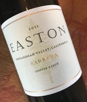 2011 EASTON Barbera, Shenandoah Valley