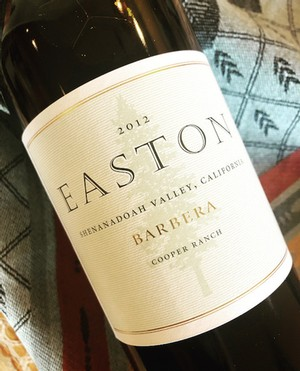 2012 EASTON Barbera, Shenandoah Valley