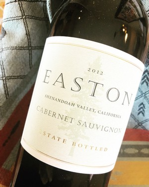 2012 EASTON Cabernet Sauvignon, Estate