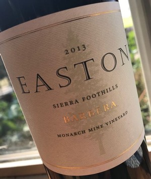 2013 EASTON Barbera, Monarch Mine Vineyard