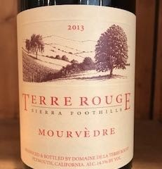 2013 TERRE ROUGE Mourvedre