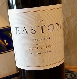 2011 EASTON Zinfandel, Rinaldi Vineyard