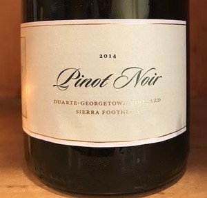 2014 EASTON Pinot Noir, Sierra Foothills