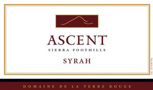 2015 TERRE ROUGE Syrah, ASCENT