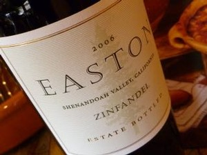 EASTON Zinfandel, Estate Vertical