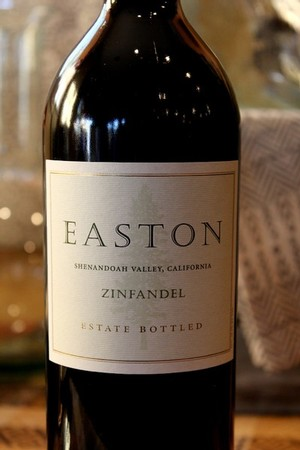 2010 EASTON Zinfandel, Estate, Shenandoah Valley