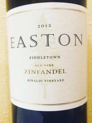 2012 EASTON Zinfandel, Rinaldi Vineyard