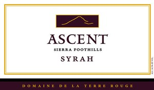 2009 TERRE ROUGE Syrah, ASCENT