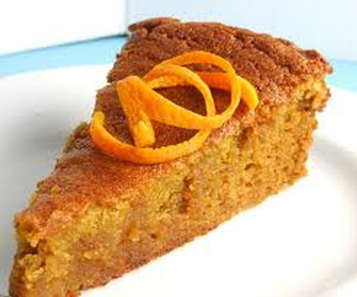 Orange Honey Spice Cake