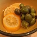 Braised Chicken with Green Olives and Preserved Lemon
